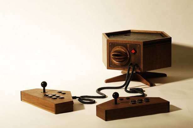 Wooden MAME Console