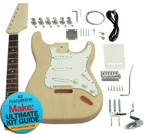 Kit-A-Day Giveaway – SAGA S-Style Guitar Kit