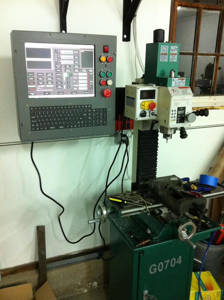 Converting a Milling Machine into a CNC