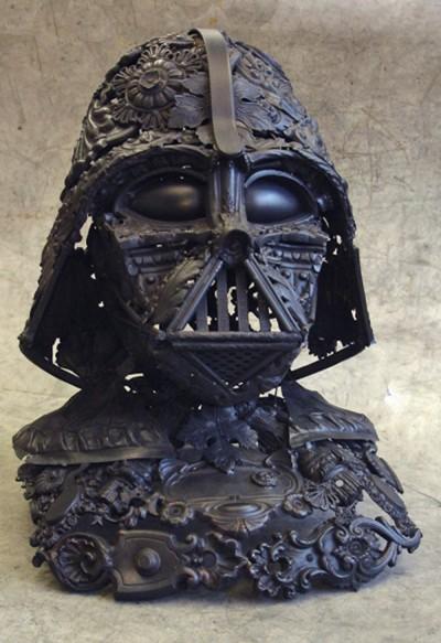 Architectural Salvage Darth Vader Helmet