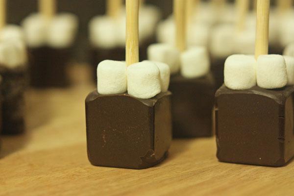 Recipe: Hot Chocolate on a Stick