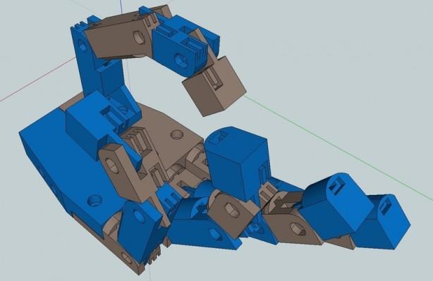 Printable Robotic Hand
