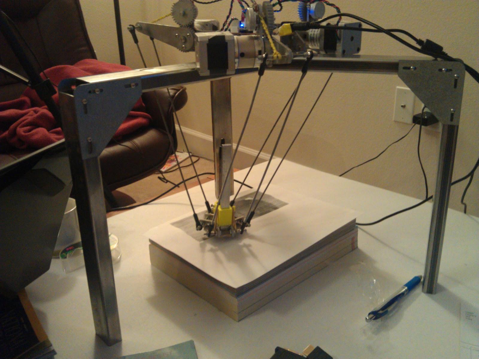Pythagoras, a Delta Robot That Draws