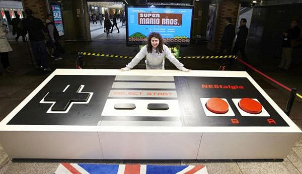 Worlds Largest Game Controller