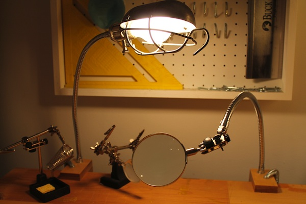 Clamp Lamps for the Workshop