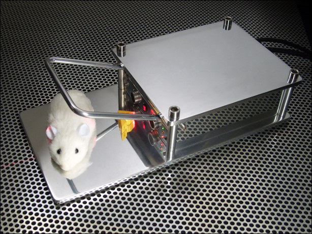 Seriously Overengineered Mousetrap