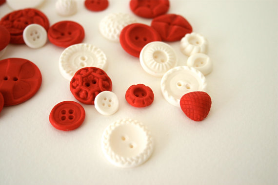Colorful Candy Buttons