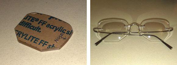 Make: Projects – Custom-Shaped Frameless Eyeglasses