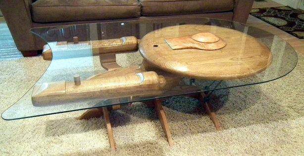 Star Trek Enterprise NCC 1701-C Coffee Table