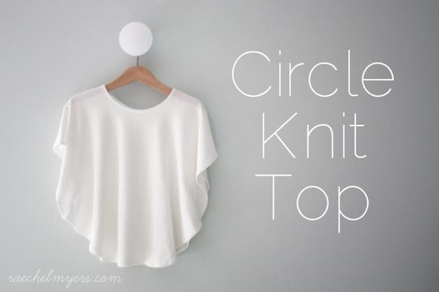 How-To: Circle Knit Shirt