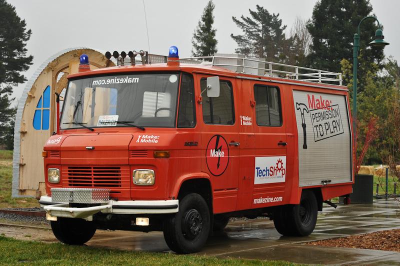 Intern's Corner: MAKE Firetruck