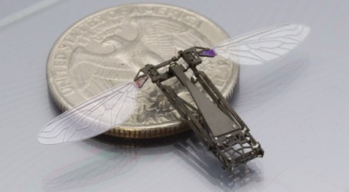 Building a Robotic Bee With MEMS 3D Printing