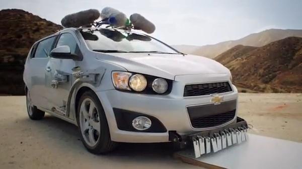 OK Go Plays a Thousand Instruments with a Car