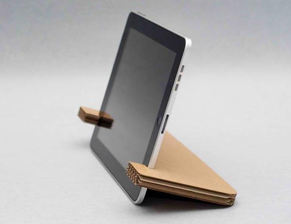 Laser-cut iPad Stand