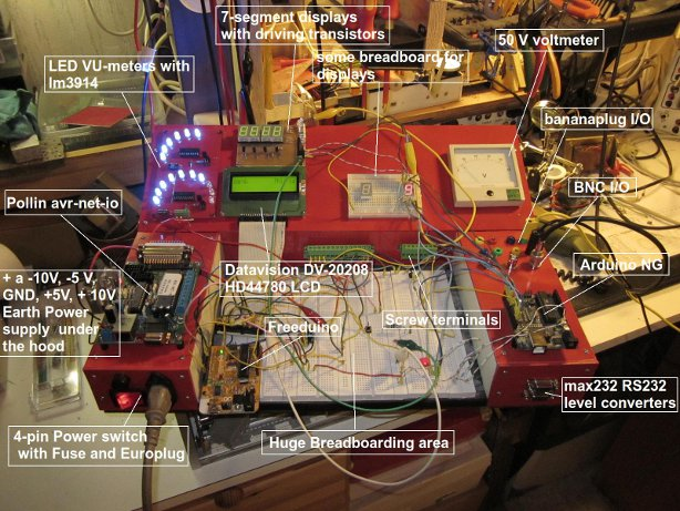 """""""The Ultimate Breadboard"""" Prototyping Station"""