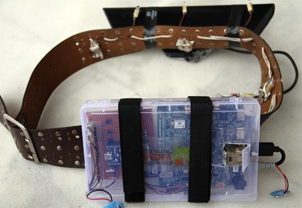 Kinect Haptic Belt Helps the Blind to Navigate Obstacles