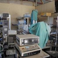 Nicaragua hospital delivery room