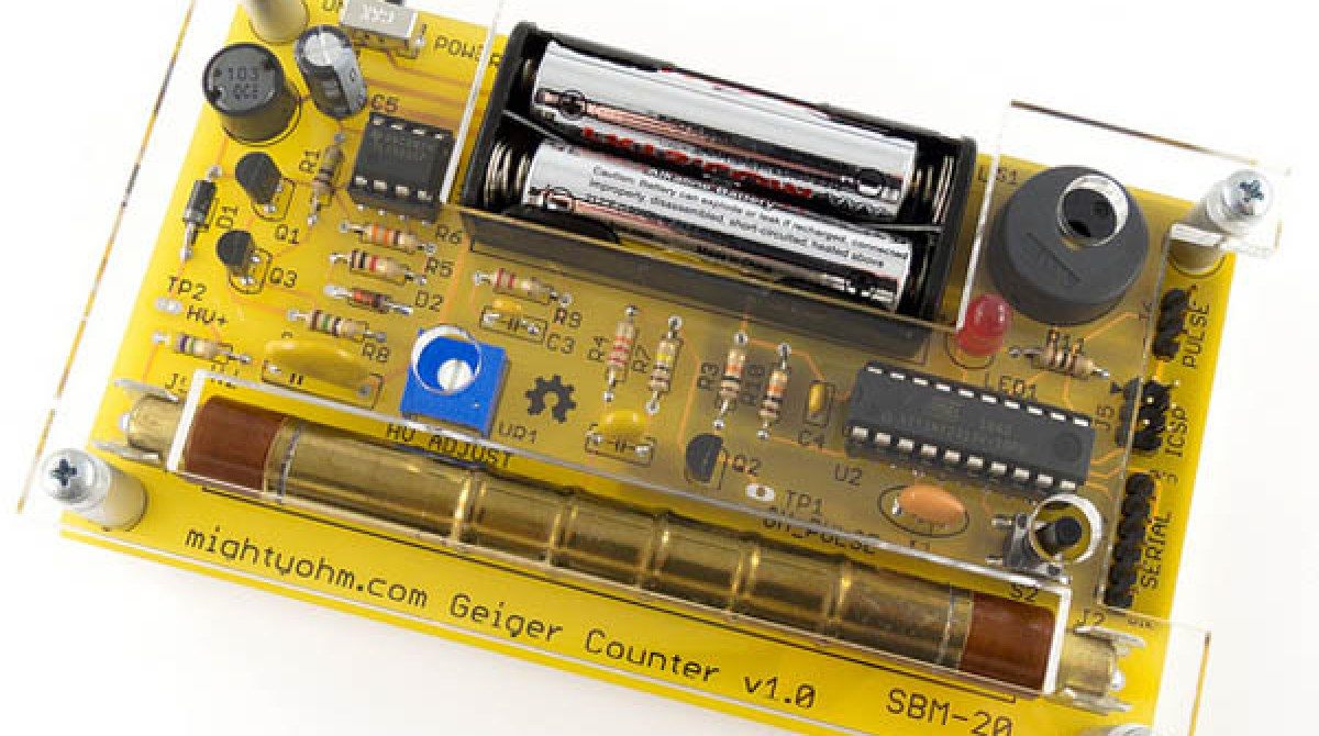 In The Maker Shed Geiger Counter Kit Make Circuit Article Featured Image