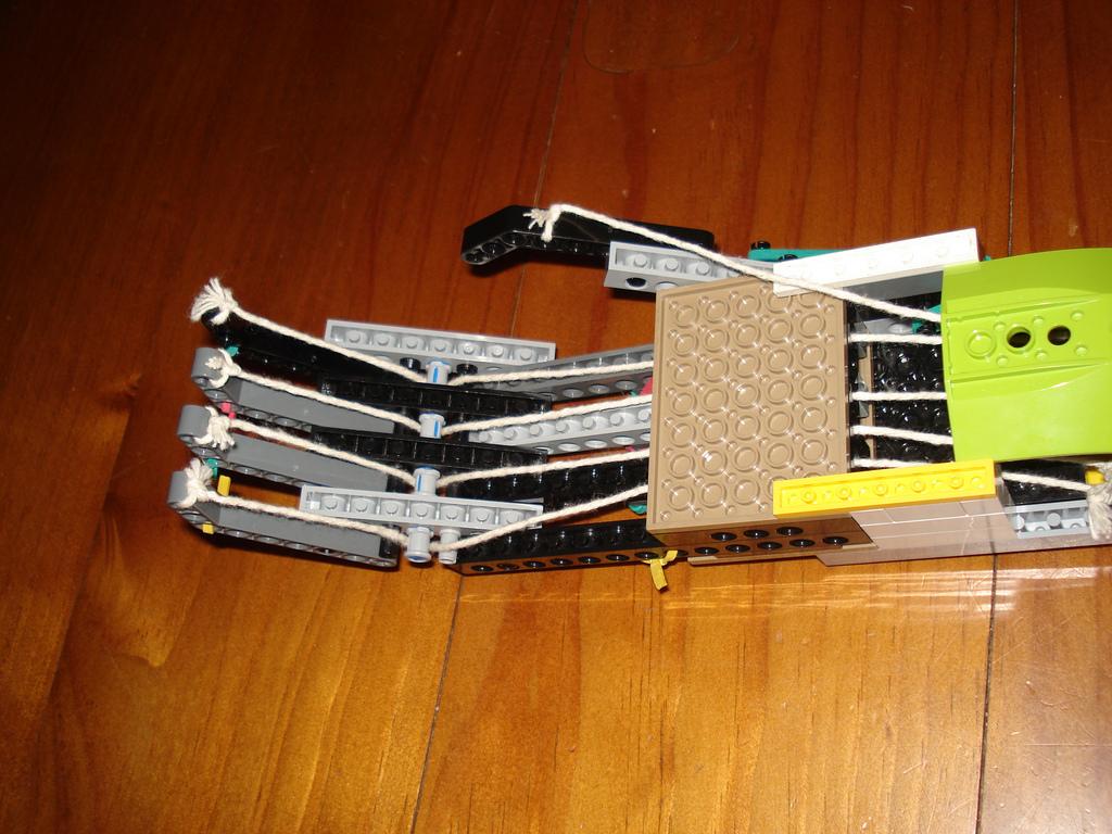 Clenching Lego Hand