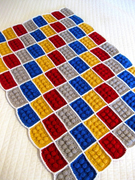 How-To: Crocheted LEGO Blanket