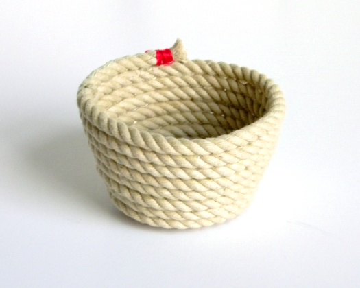 How-To: Decorative Rope Bowl