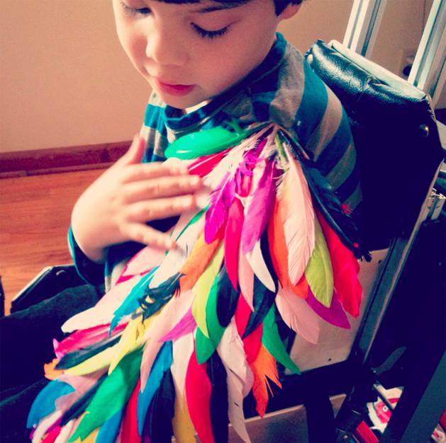 How-To: Children's Bird Wings