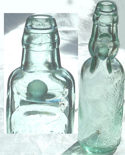 Reusable Codd-Neck Soda Bottles
