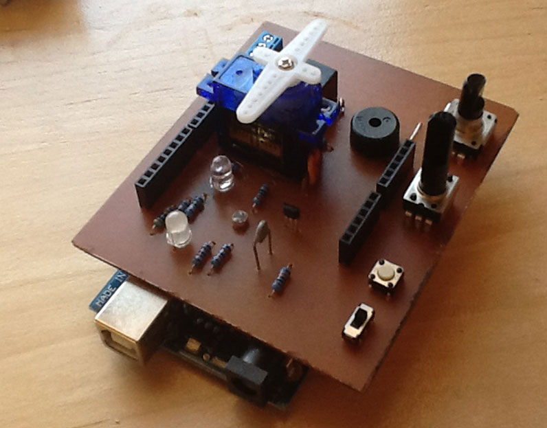 Diyode CodeShield Helps Arduino Fans Skip the Hardware