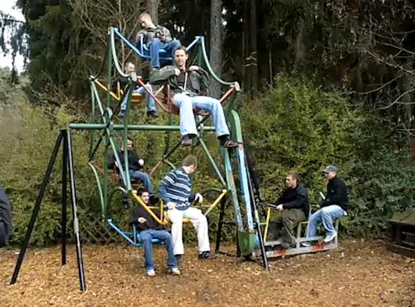 People Powered Ferris Wheel