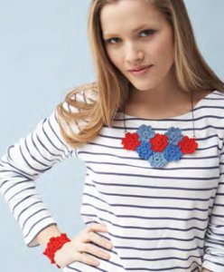 How-To: Crocheted Floral Necklace