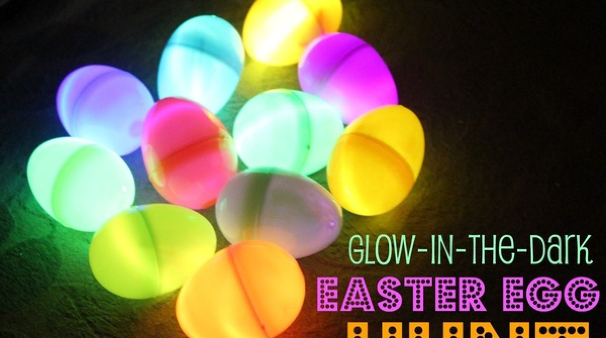 How to host a glow in the dark egg hunt make article featured image negle Images