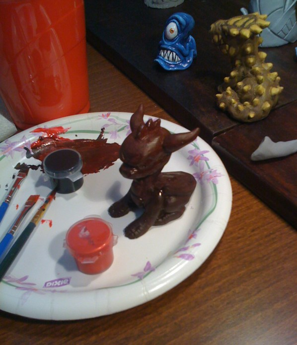 Sculpted Spyro