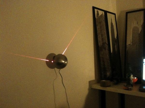 Arduino-Powered Laser Clock