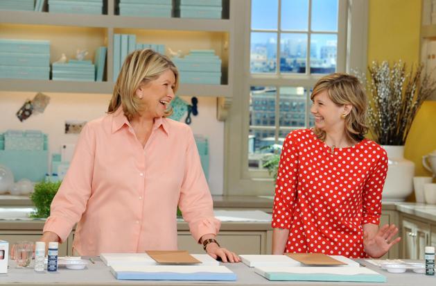 Behind the Scenes at Martha Stewart
