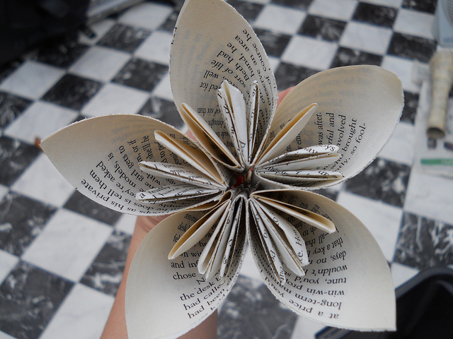 How-To: Paper Wedding Flowers