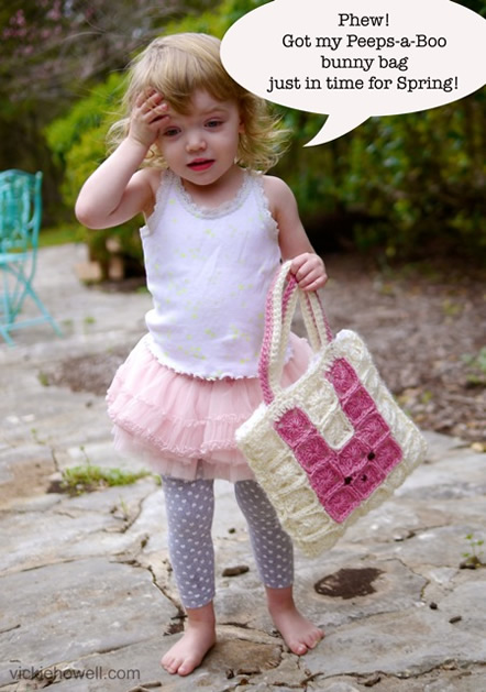 Project: Peeps-a-Boo Bag From Vickie Howell
