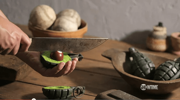 """""""Fresh Guacamole"""" Stop-Motion, from PES"""