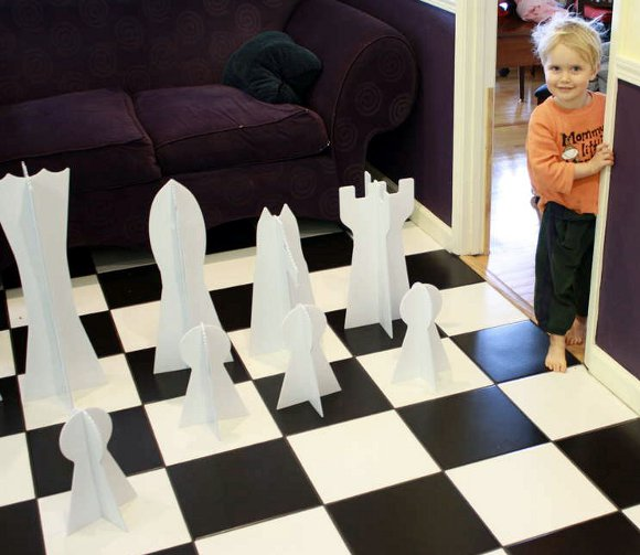 How-To: Giant Chess Set