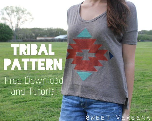 How-To: Tribal-Inspired Pattern Printing