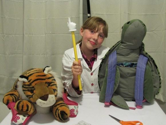 Backpack Buddy – Sylvia's Mini Maker Show