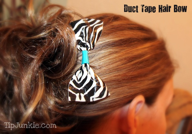 How-To: Duct Tape Hair Bow