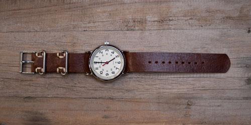 DIY Leather Watch Strap