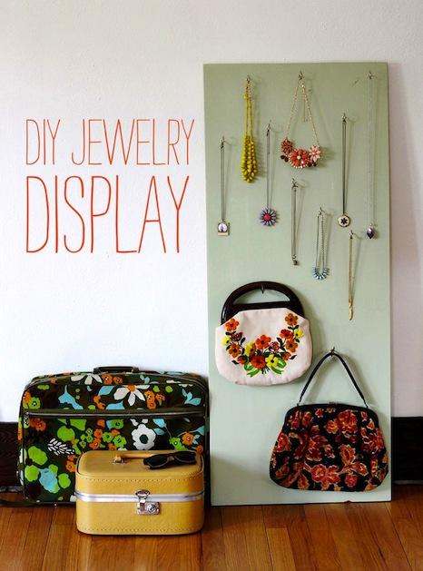 How-To: DIY Jewelry Display
