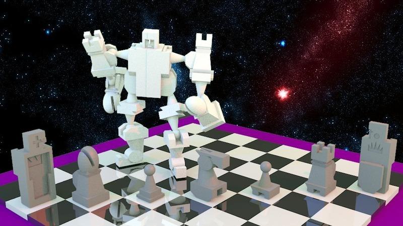 Chess à la Voltron