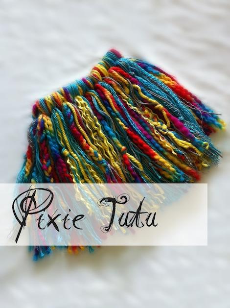 How-To: Colorful Yarn Tutu