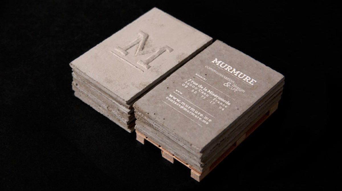 Concrete Business Cards | Make: