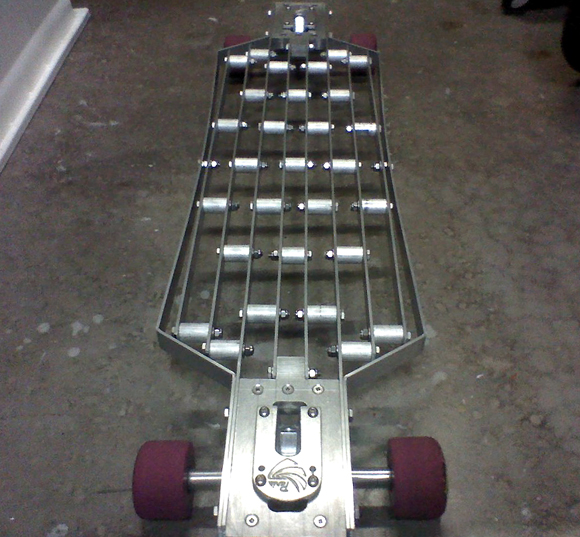 Homemade Aluminum Longboard Deck