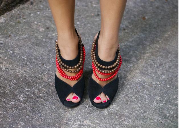 Burberry Inspired Shoe Embellishments