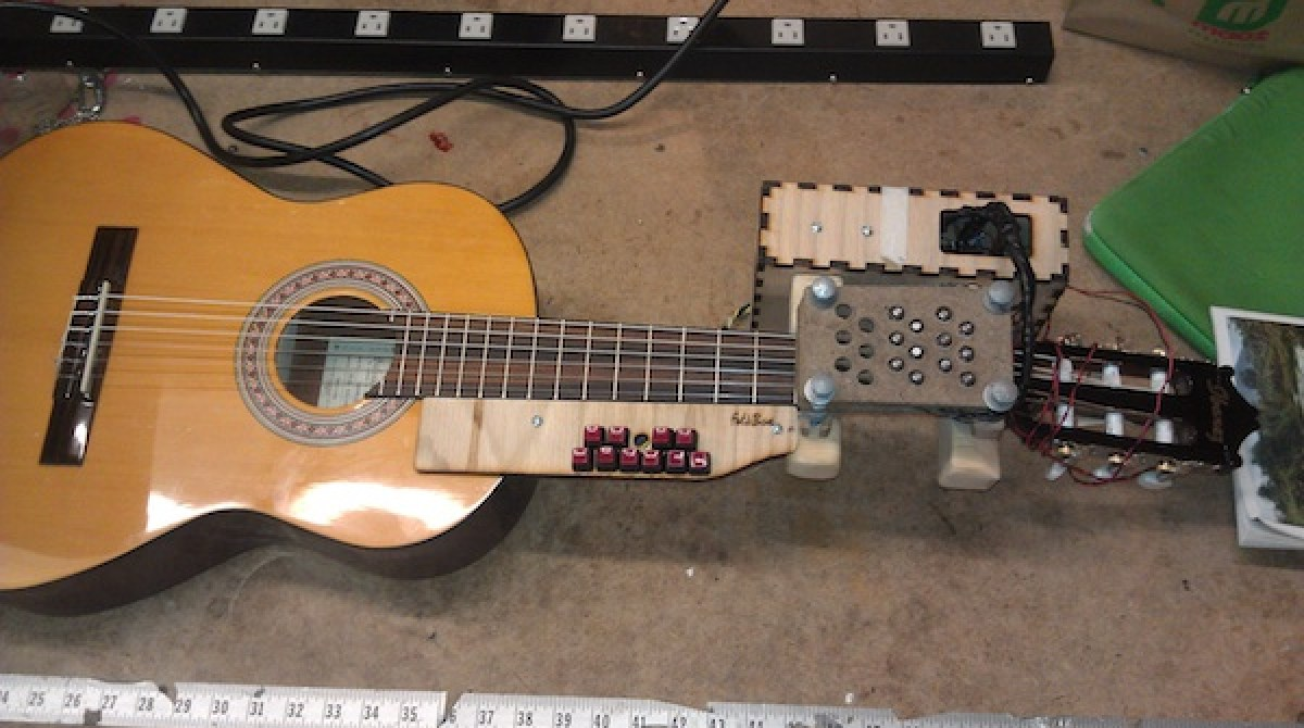 Arduino Mod Lets Disabled Musicians Play Guitar | Make:
