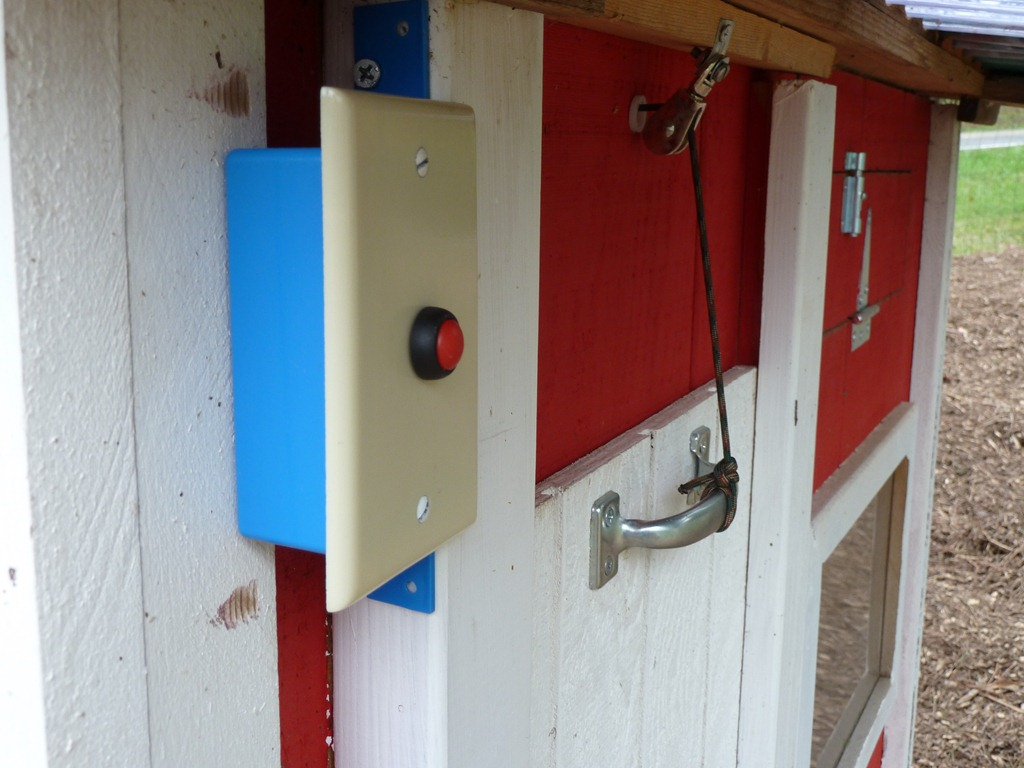 Arduino-Controlled Chicken Coop Door